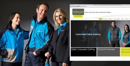 Trakman website designed by Dispirito Design, Cheltenham, Gloucestershire