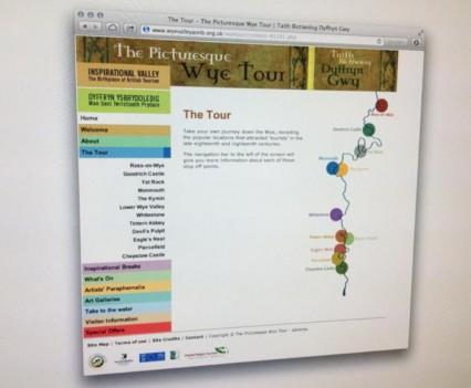wye tour website