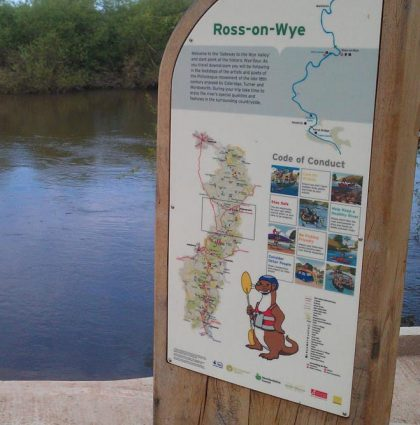 River Wye Code of Conduct Information Panels