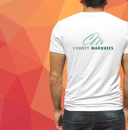 County Marquees Logo & Branding
