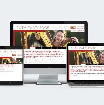 Ruth Cartledge Harpist Website