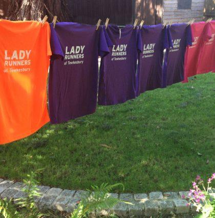 Lady Runners Logo & Branding