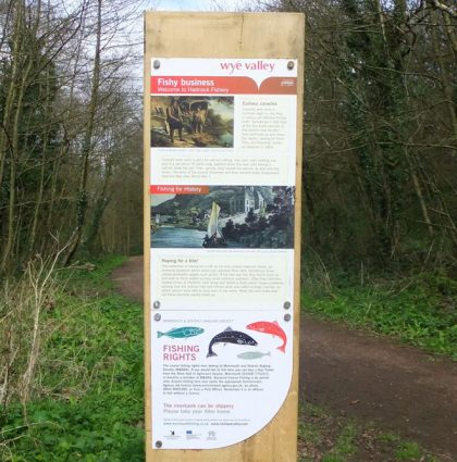 Angling Information Panels