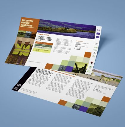 Blaenavon Ranger Volunteer Handbook & Leaflets