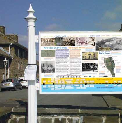 Bute Town Information Panels