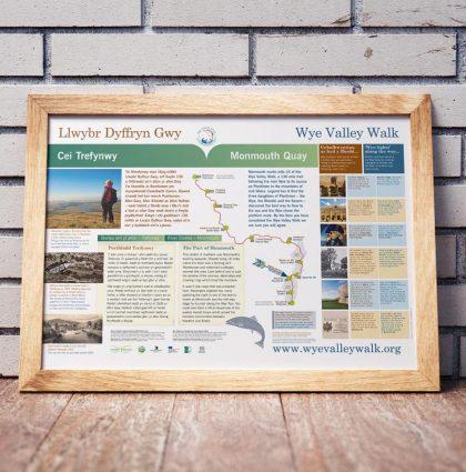 Wye Valley Walk Information Panels