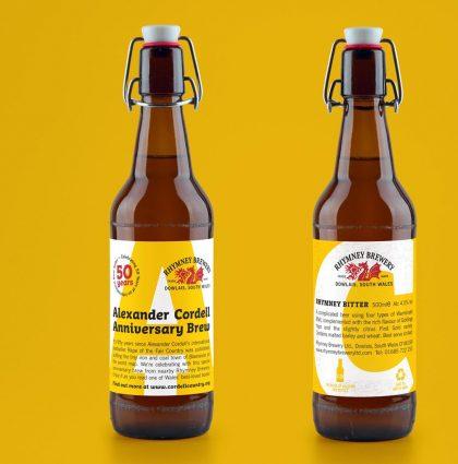 Alexander Cordell Anniversary Beer