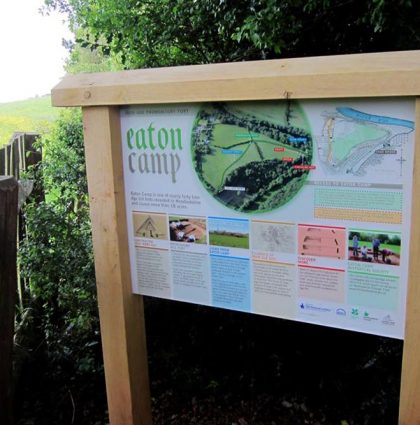 Eaton Camp Information Panels