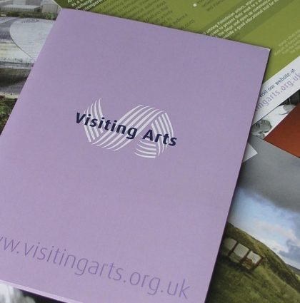 Visiting Arts Mini Marketing Postcards Pack